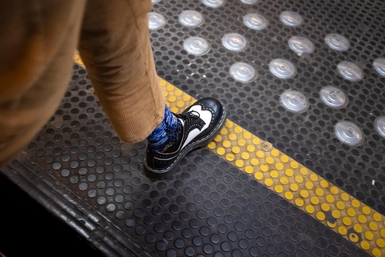 Schieven Regards II – Hélène Cook : « Happy feet in the metro »
